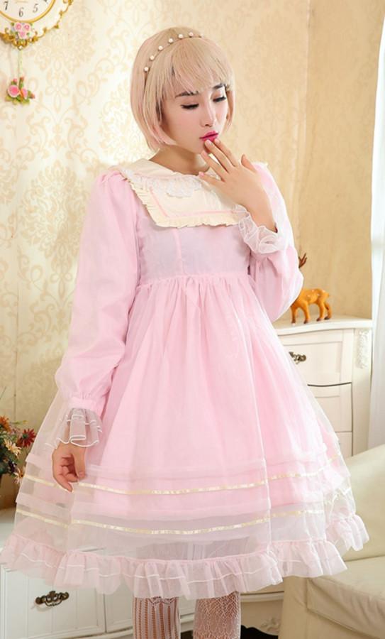 Dream of Lolita Organza  Lolita OP- Free Shipping In Stock