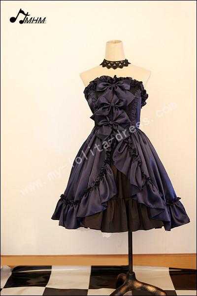 Gothic Satin Lolita Corset