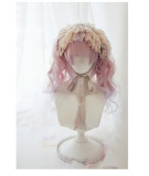 Dreamholic~ Catherine's Afternoon Tea with Cat~ Natural Bangs Lolita Wig With Two Ponytails
