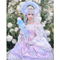 Diamond Honey ~Fairy Tale Mermaid Princess Lolita Jumper -Pre-order