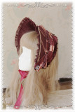 Infanta ~Swan Lake~ Dark Printed Lolita Bonnet