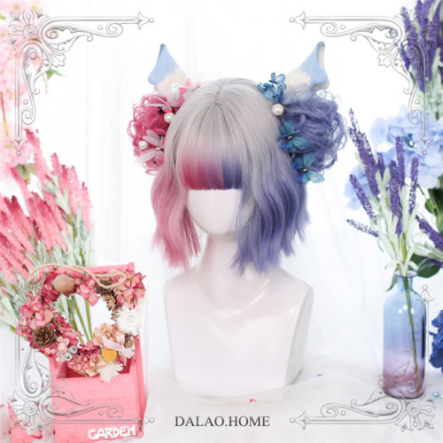 Dalao Home ~Color Split Lolita Wig