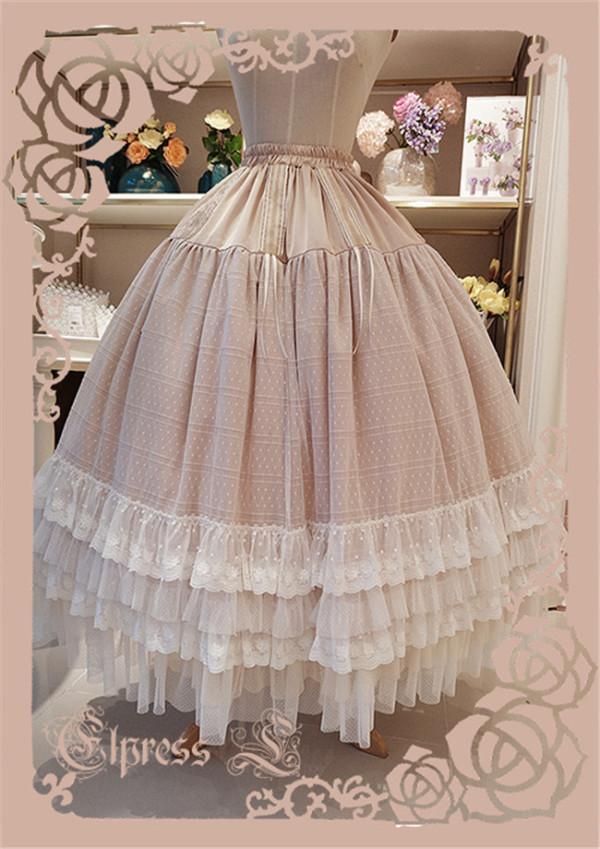 Elpress L ~West Island~ Elegant Lolita Long Petticoat