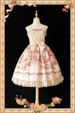Champs Elysees~ Sweet Lolita Printed JSK -Special Price