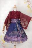 IchigoMiko ~Night Sakura Krathong~ Lolita Skirt 2 Version  -Pre-order