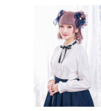 Magic Music School~ Bass Embroidery Lolita Blouse