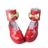 Sweet Red Heels Shoes