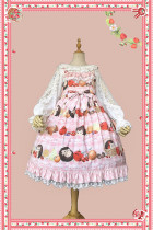 Infanta ~Little Hedgehog ~ Slight High Waist Lolita JSK -Pre-order