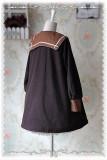 Infanta College School Style Sharp Collar Lolita Coat