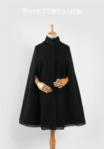 Hades Queen~ Winter Vintage Wind-proof Lolita Cape