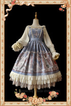 Angel Choir~ Lolita Printed Jumper + Headbow