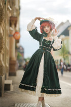 Miss Point ~Mrs Jennifer Elegant Velvet Lolita OP