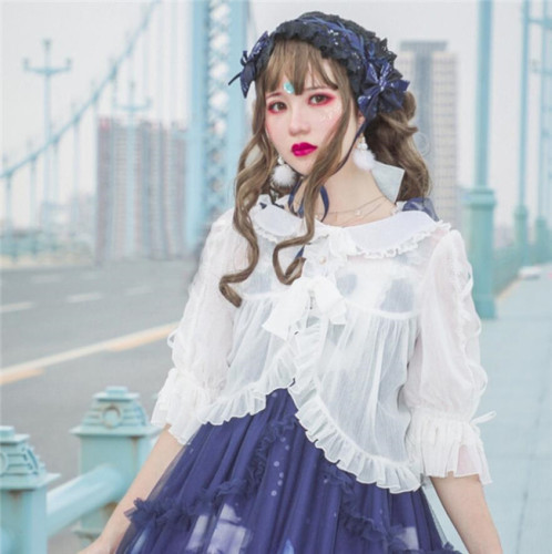 Summer Love Sweet Chiffon Lolita Blouse