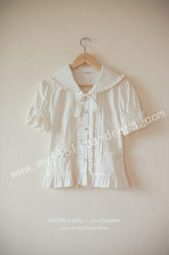 Tender Dream Sweet White Lolita Shirt
