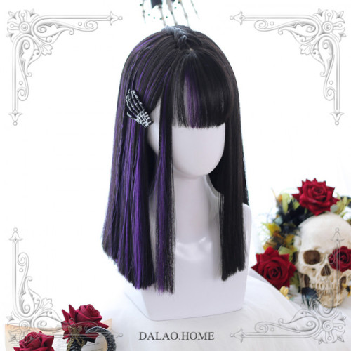 Little devil ~40cm Long Curls Lolita Wig