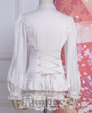 Strawberry Witch~ Chibor's Fairytale Dream Lolita Blouse  -Ready Made
