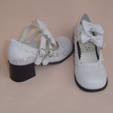 Sweet Double Bows Lolita Shoes