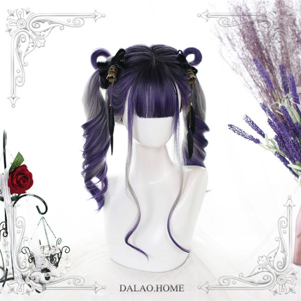 Dalao Home Grape Soda Lolita Wigs
