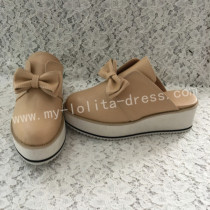 Sweet Matte Brown Lolita High Platform