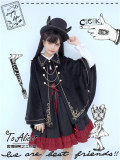 Tommy Bear ~Military Style Winter Lolita Cape Coat