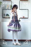 Neverland Lolita Arabian Nights Lolita JSK with Surface Layer Skirt