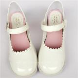 Black Sweet Lolita Flats Shoes