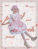 Magic Tea Party ~Summer of White Bear Lolita JSK -Ready Made