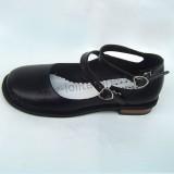 Coffee Low Heels Lolita Shoes