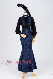 Surface Spell ~Nyx Gothic Lolita Fishtail Skirt Custom-tailor Available
