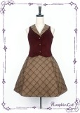 Top Student in Detective Academy~ College Style Lolita Vest + Skirt Set -Special Price