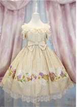 Daisy and Dandelion ~Sweet Lolita Jumper Dress Version II