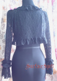 Long Sleeves Girls Lace Bolero