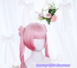 Small Fu Butterfly~Long Curls Two Ponytails Lolita Wig