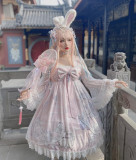 Diamond Honey ~The Butterfly Dream Han Style Lolita OP