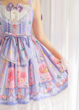 Strawbery Witch ~Blueberry Fruit~ Lolita JSK