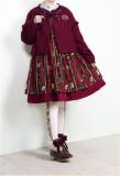 Honey Tea In Warm Winter~ Sweet Lolita Short Coat  -Ready Made
