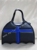 Bat Shape Black Lolita HandBag with Cross