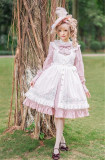 Rose Garden~ Vintage Embrodery Surface Layer Dress Both-sides Wear Ways