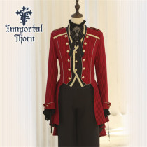 Immortal Thorn ~Immortal Oath of Daynight~ Ouji Lolita Coat -Ready Made