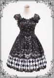 Sunset&The Chromatic ~ Classic Lolita OP -Custom Sizing Available