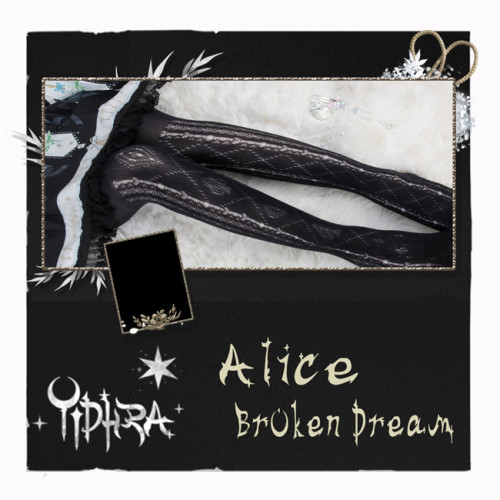 Alice Broken Dream Summer Lolita Tights