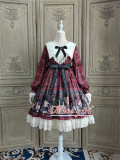 Alice Girl ~Gingham Teddy Lolita OP -Pre-order