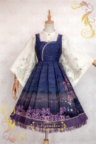 IchigoMiko ~Night Sakura Krathong~ Lolita JSK Dress Version I- Pre-order