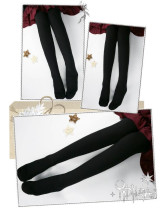 Winter 1800D Uni-color Lolita Tights - In Stock