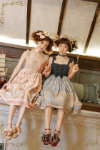 Antique Dolls ~Sweet Lolita JSK- Ready Made