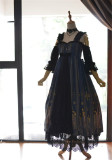 Byzantium~ Elegant Lolita JSK Dress with Front Open Design