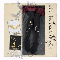 Little Bat Night~ Gothic Lolita Tights 120D/200D/900D
