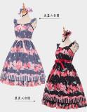 Magic Tea Party ~Peach~ Sweet Dailywear Lolita Jumper