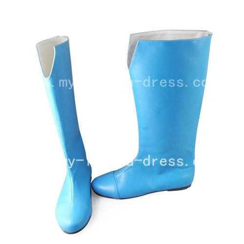 Beautiful Blue Bleach Nova Boots