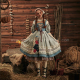 Classical Puppets ~Cinderella Daily Wear Lolita OP-Ready Made